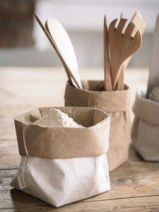 Il sacchetto portafarina, perfetto in cucina