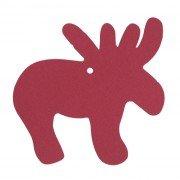 addobbo rosso renna