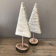 albero di Natale in legno e filo k-lab e labor