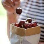 Crumble di ciliegie - Sacchino