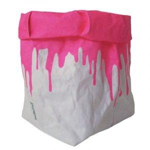 Il sacchetto pink fluo
