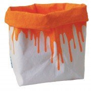 Il sacchetto orange fluo