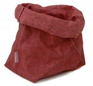 sacchetto living rosso