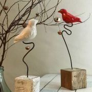 uccellino ceramica